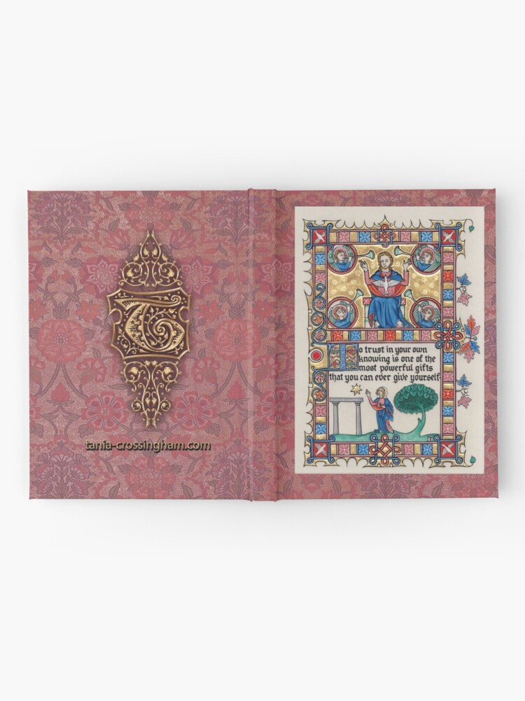 Alternate view of Medieval Illumination - Trust in your knowing Hardcover Journal