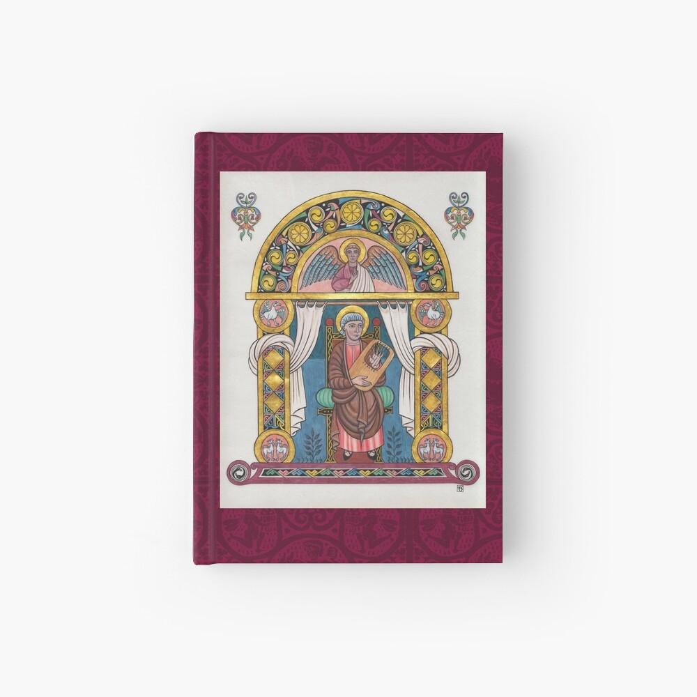 Medieval Illumination - King David Hardcover Journal