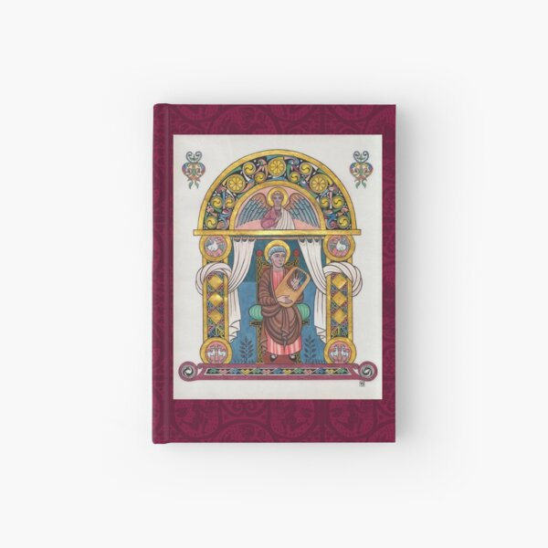 Medieval Illumination - King David Hardcover Journal