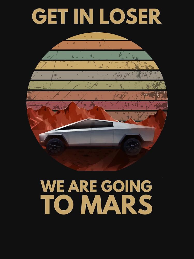 Cybertruck - Going To Mars by Ellyzium