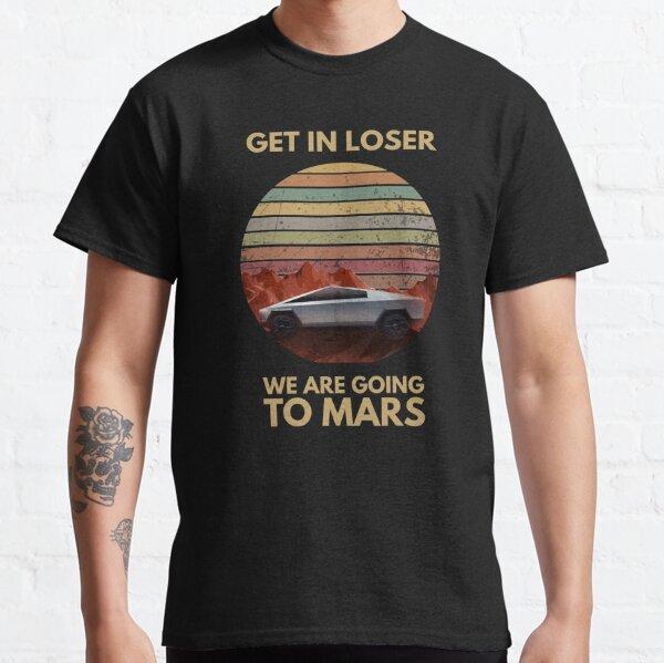 Cybertruck - Aller sur Mars T-shirt classique