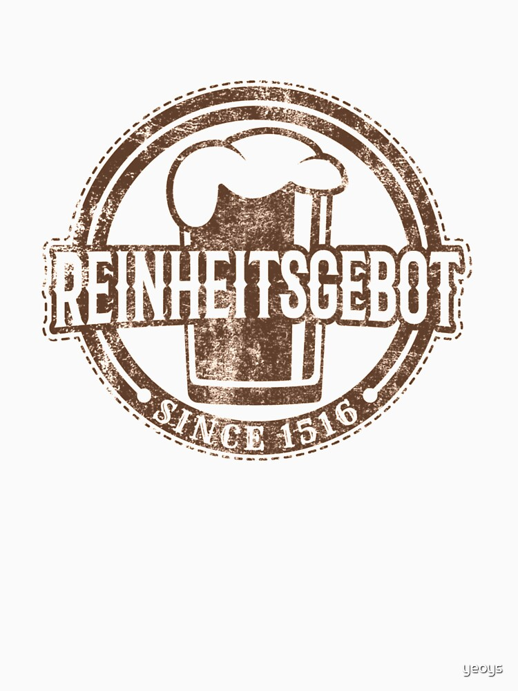 Reinheitsgebot Since 1516 - Craft Beer by yeoys