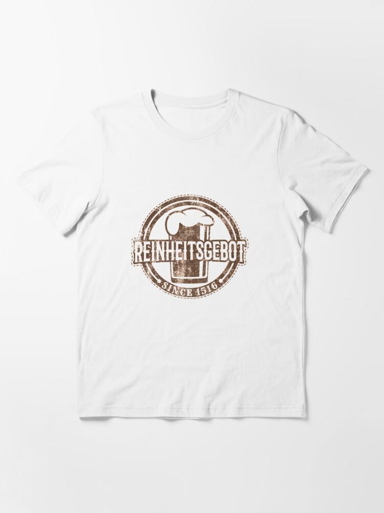 Alternate view of Reinheitsgebot Since 1516 - Craft Beer Essential T-Shirt