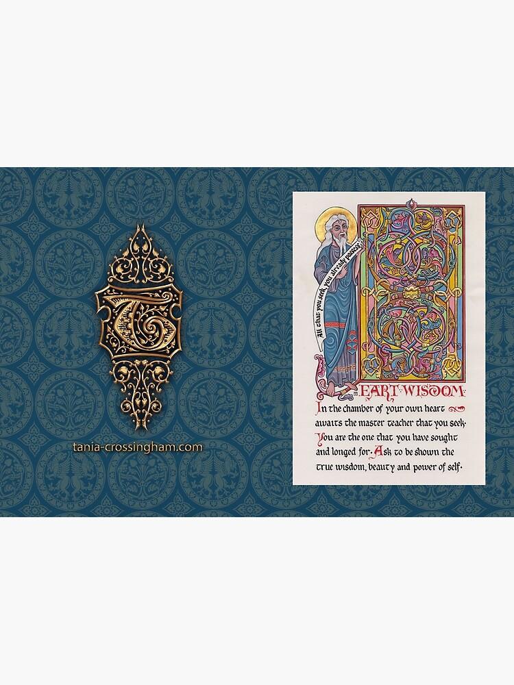 Medieval Illumination - Heart Wisdom by TCilluminate