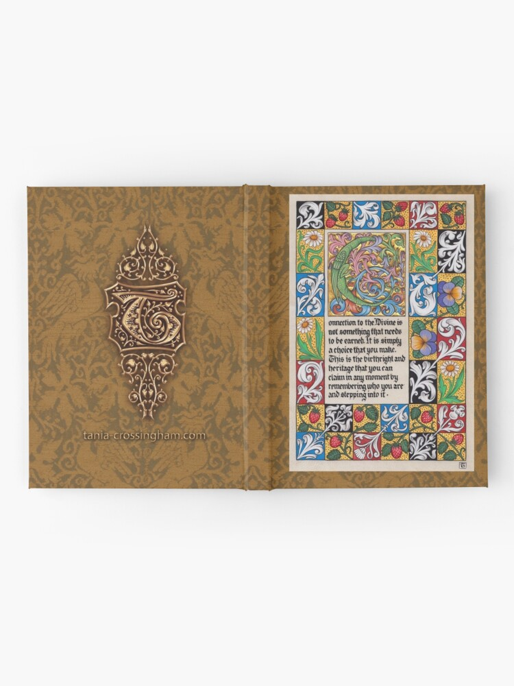 Alternate view of Medieval Illumination - Connection to the Divine Hardcover Journal