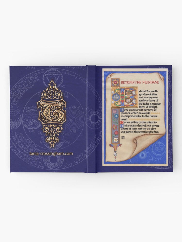 Alternate view of Medieval Illumination - Beyond the Mundane Hardcover Journal