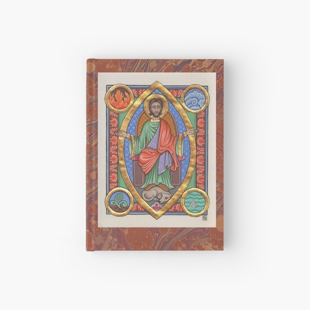 Medieval Illumination - Balancing the elements Hardcover Journal