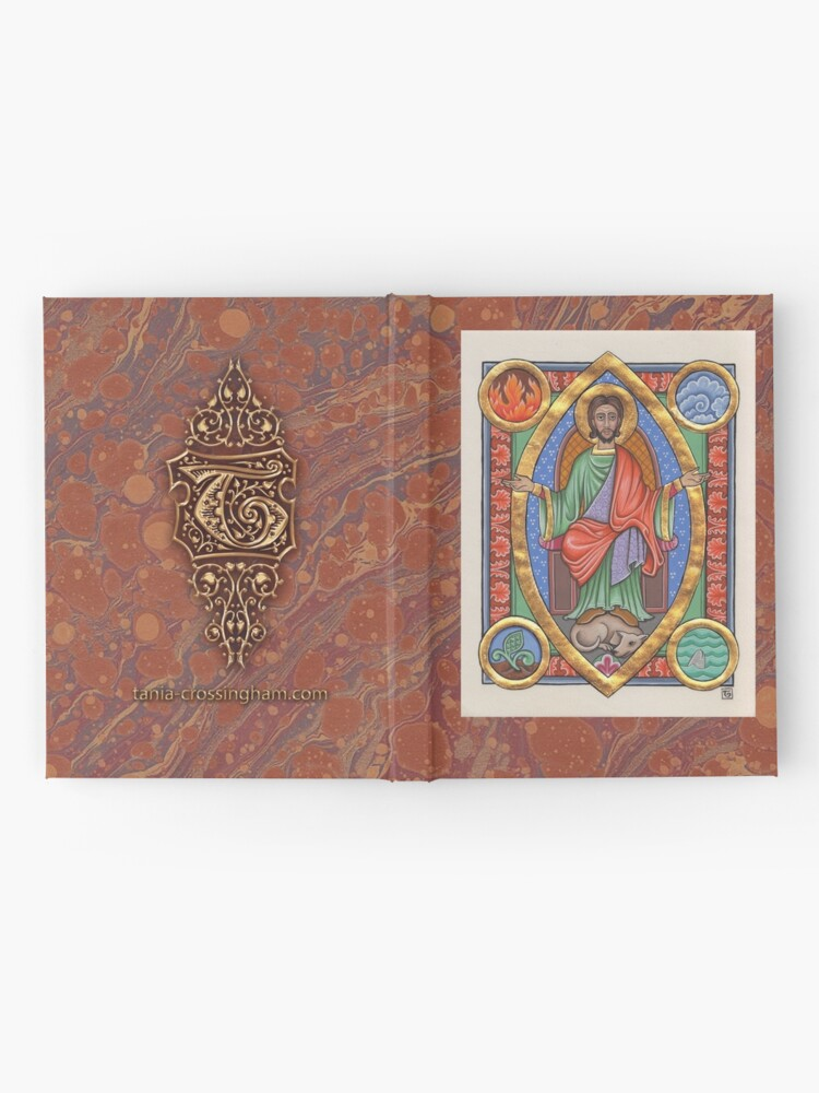 Alternate view of Medieval Illumination - Balancing the elements Hardcover Journal