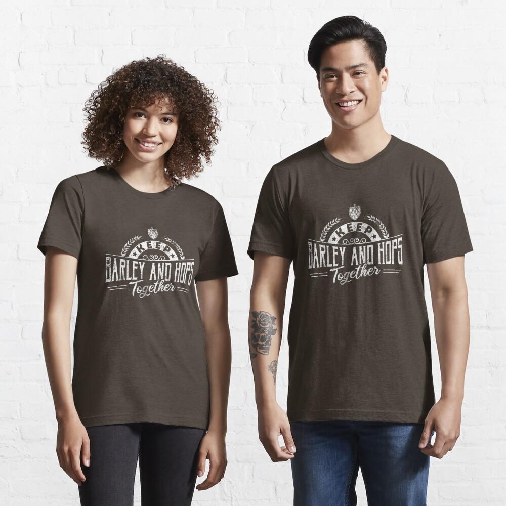 Keep Barley And Hops Together - Reinheitsgebot Essential T-Shirt