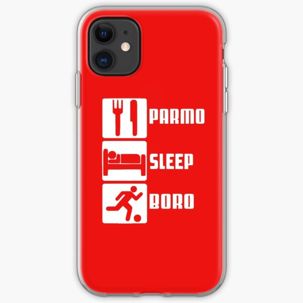 PARMO SLEEP BORO iPhone Soft Case