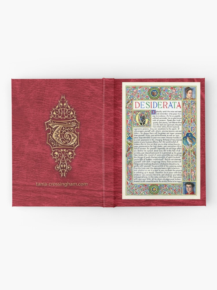 Alternate view of Medieval Illumination - Desiderata Hardcover Journal