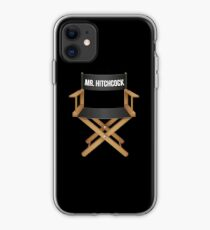 Alfred Hitchcock director chair iPhone Case
