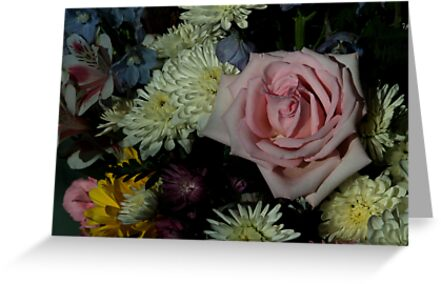 Bouquet for a friend by Barry Doherty