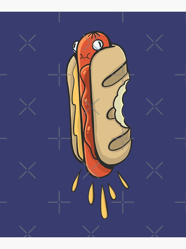 Hot-dog with a nice sausage by duxpavlic