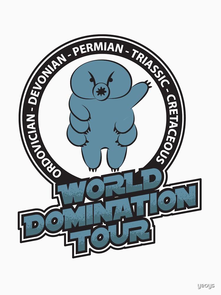 Tardigrade World Domination Tour - Funny Tardigrade by yeoys