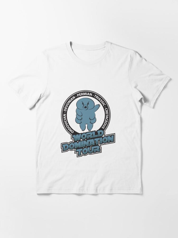 Alternate view of Tardigrade World Domination Tour - Funny Tardigrade Essential T-Shirt