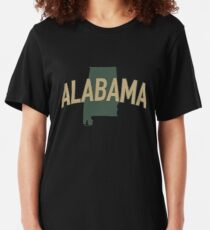 Alabama State Slim Fit T-Shirt