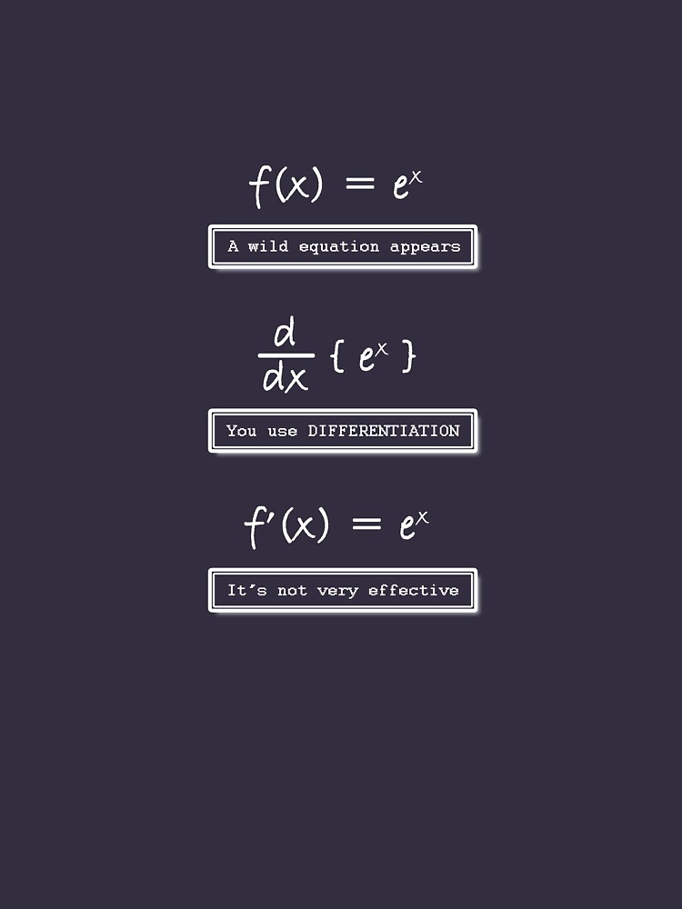 Not Very Effective Maths (Dark Shirt) | Unisex T-Shirt