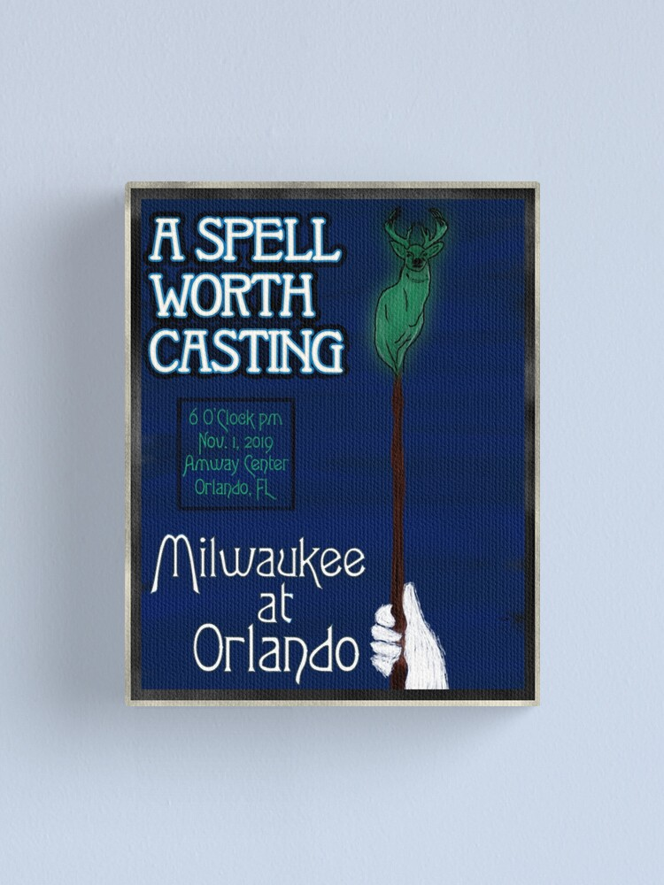 Alternate view of A Spell Worth Casting Canvas Print