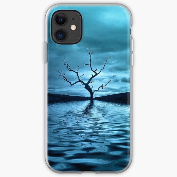 Tree Blue iPhone Soft Case