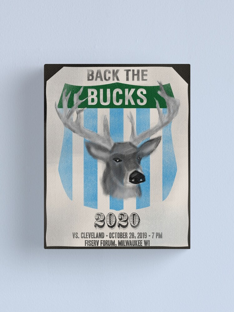 Alternate view of Back the Bucks 2020 Canvas Print