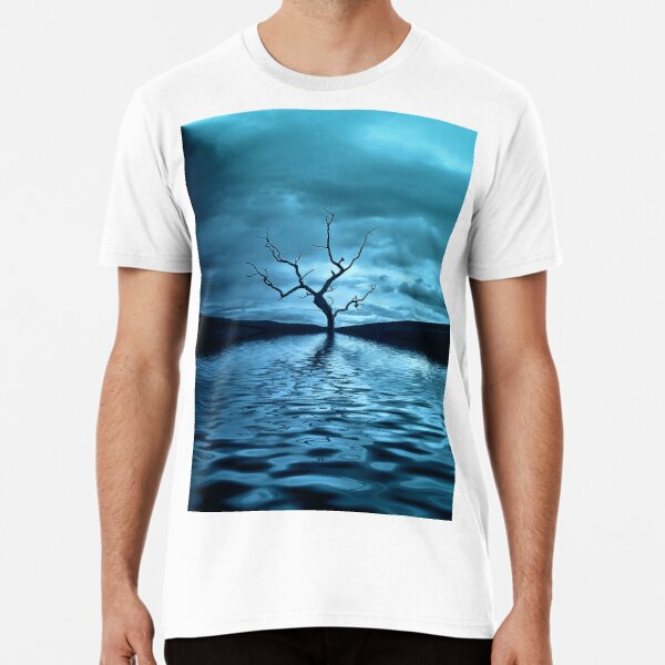 Tree Blue Premium T-Shirt