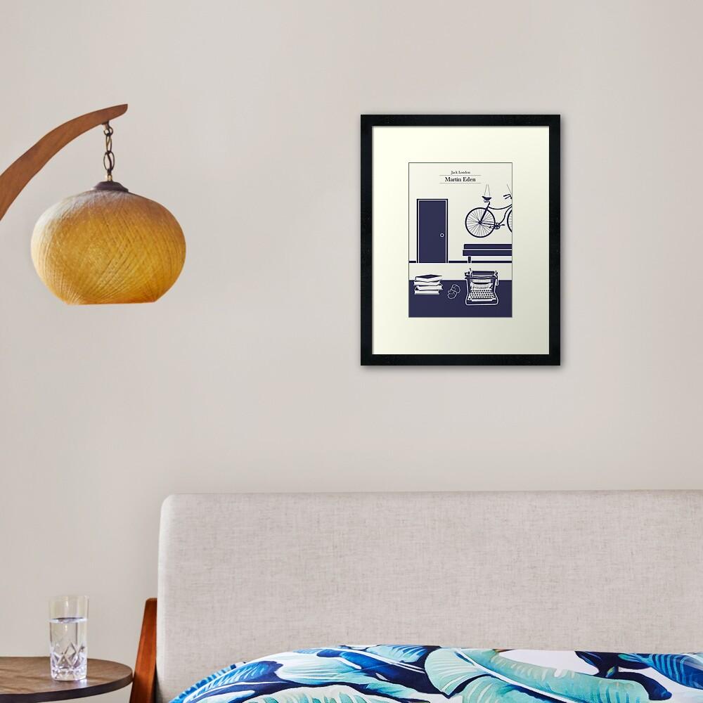 Martin Eden's room Framed Art Print