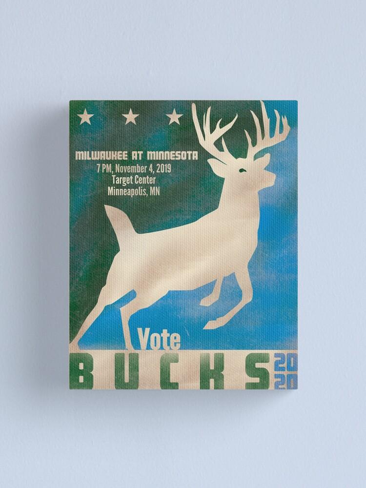 Alternate view of Vote Bucks 2020 Canvas Print