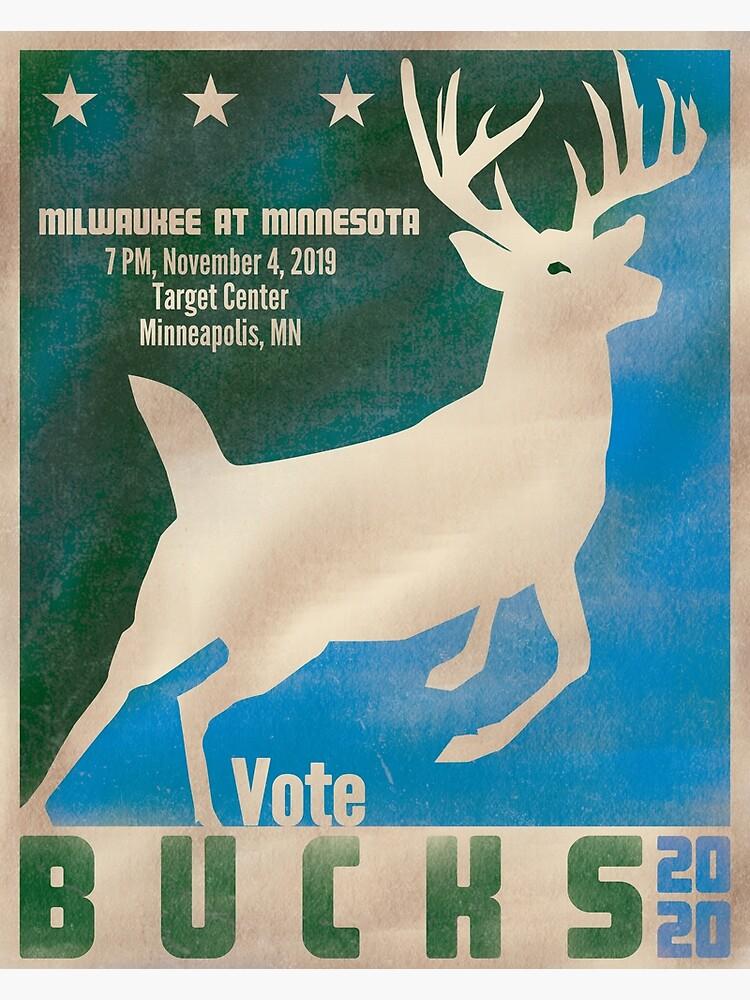 Vote Bucks 2020 by AJW3-Art