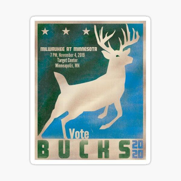 Vote Bucks 2020 Sticker