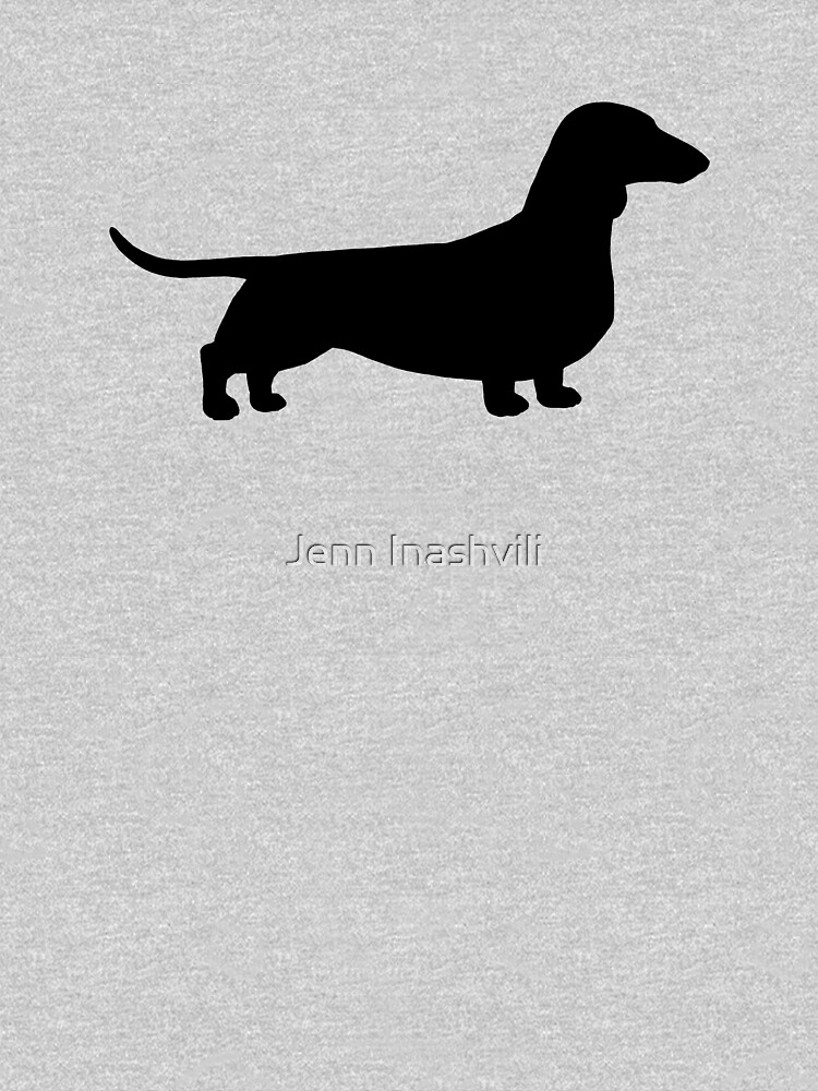 Dachshund Dog Silhouette(s) by ShortCoffee