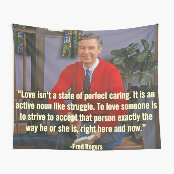 Mr Rogers Tapestries Redbubble