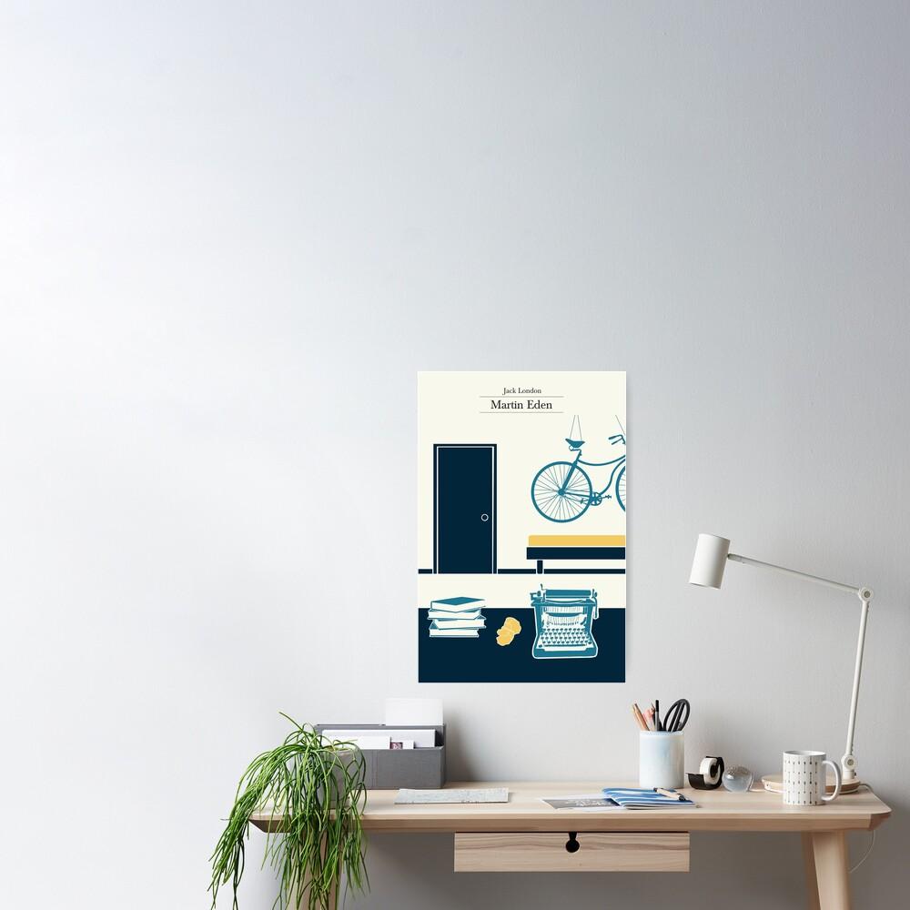 Martin Eden's room - 3 colors Poster