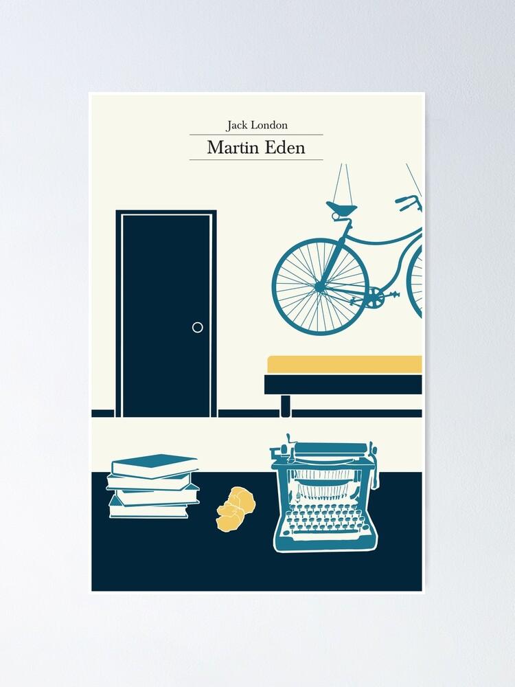 Alternate view of Martin Eden's room - 3 colors Poster