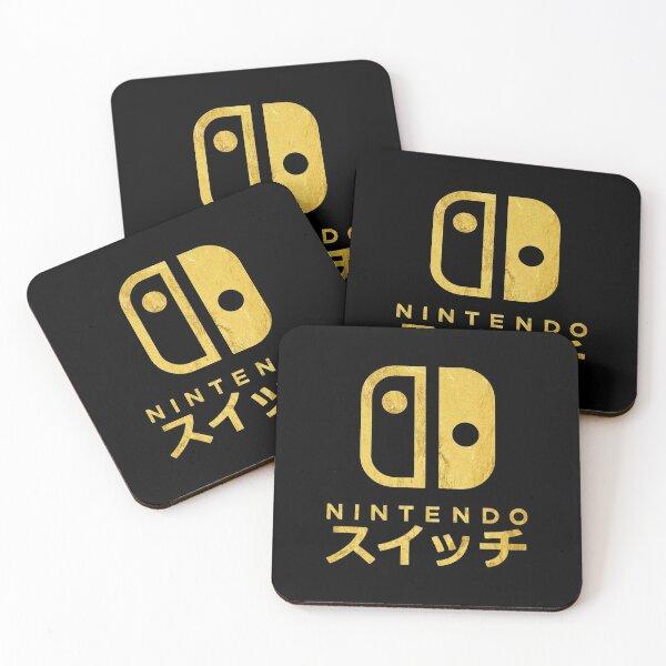 NINTENDO SWITCH Coasters (Set of 4)