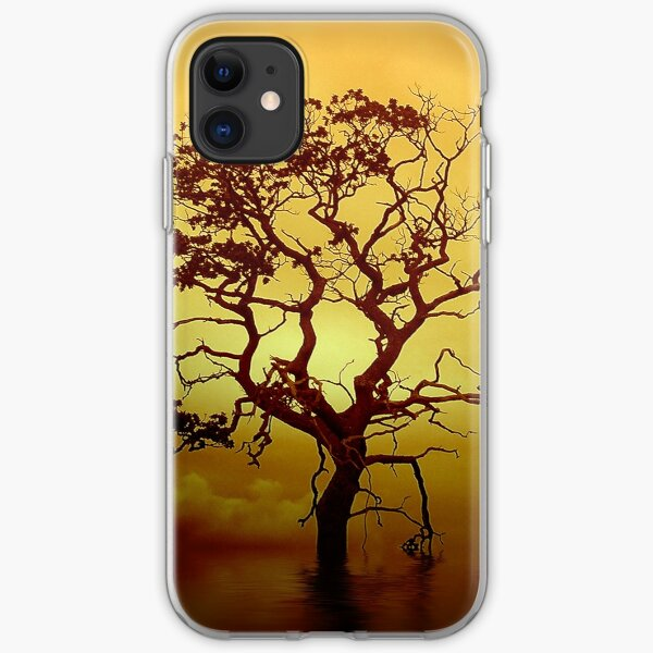 Evening Tree iPhone Soft Case