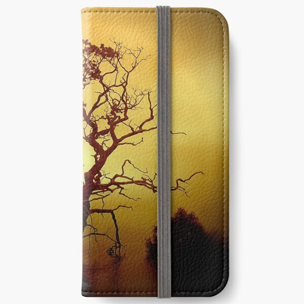 Evening Tree iPhone Wallet