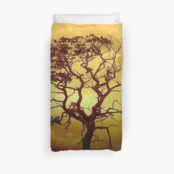 Evening Tree Duvet Cover