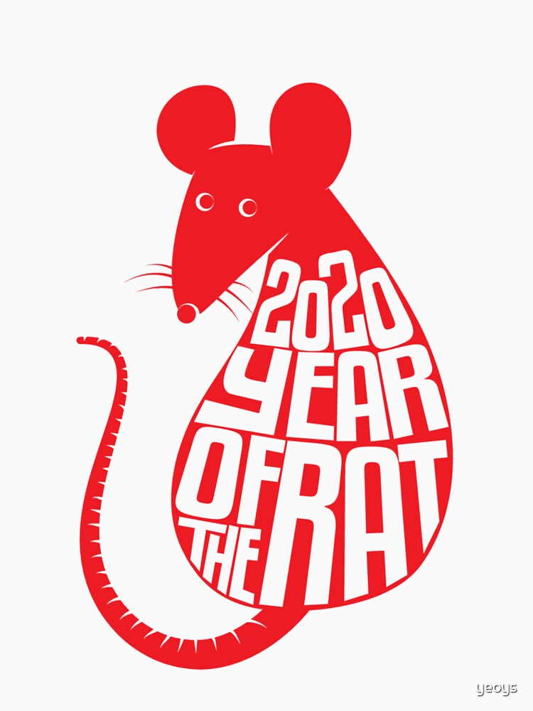 Chinese Zodiac - 2020 Year Of The Rat by yeoys