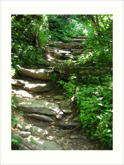 Stairway to Blue Ridge by glennc70000