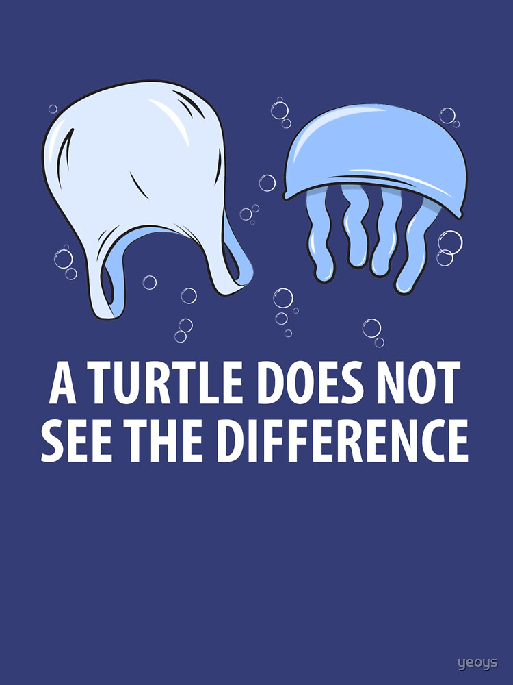 A Turtle Does Not See The Difference - Sea Turtle von yeoys