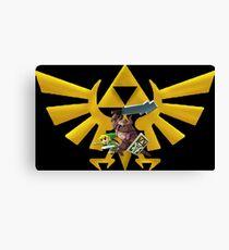 Lienzo Zelda's attack!