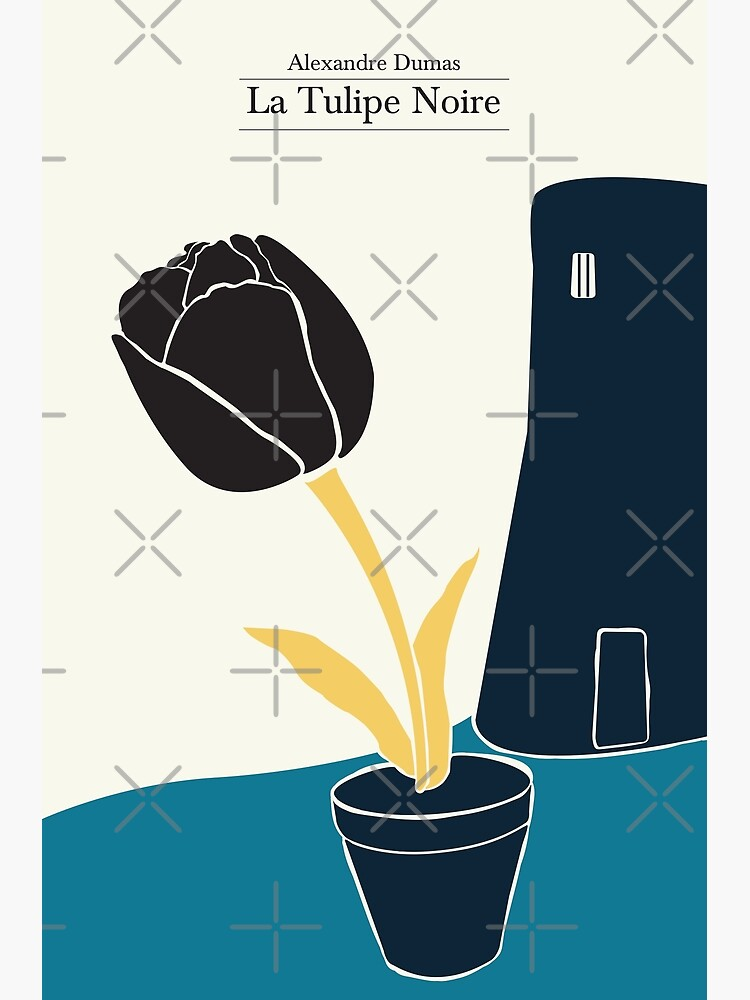The Black Tulip - 3 colors by PrintablesP