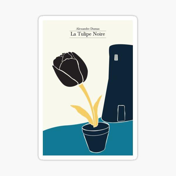 The Black Tulip - 3 colors Sticker