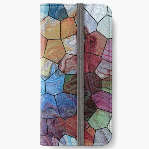 Marble 4 iPhone Wallet