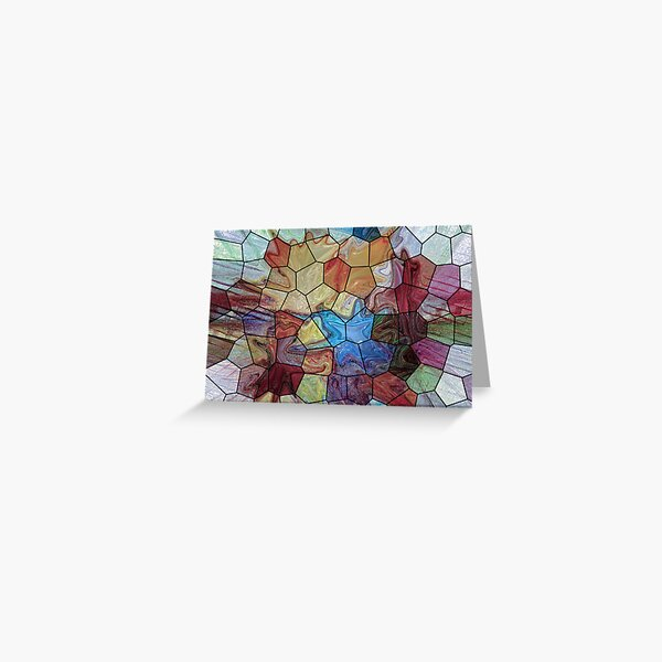 Marble 4 Greeting Card