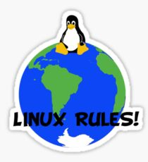 Linux Rules! Sticker