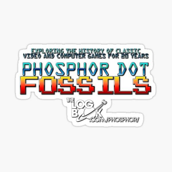 Phosphor Dot Fossils 20th Anniversary Sticker