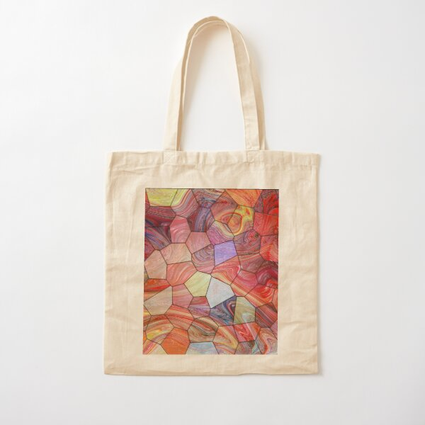Marble 3 Cotton Tote Bag