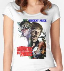 Abominable Dr. Phibes - Vincent Price 1971 Women's Fitted Scoop T-Shirt